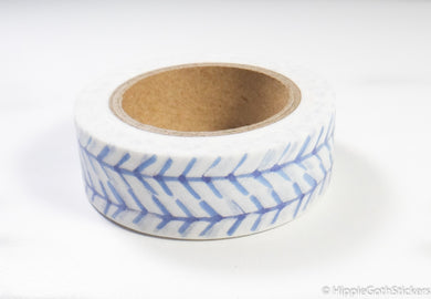 Blue Pattern Washi
