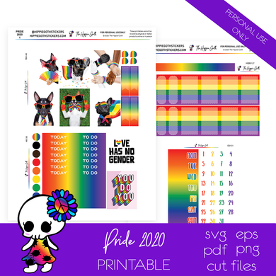 Pride 2020 Weekly Kit Printable