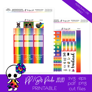Pride 2020 PP Weeks/B6 TN Printable