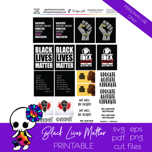 Black Lives Matter Free Printable
