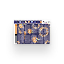 Load image into Gallery viewer, Halloween Purple Watercolor Weekly Kit