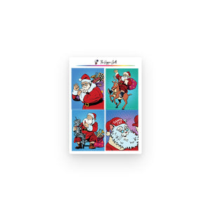 Retro Santa Full Boxes