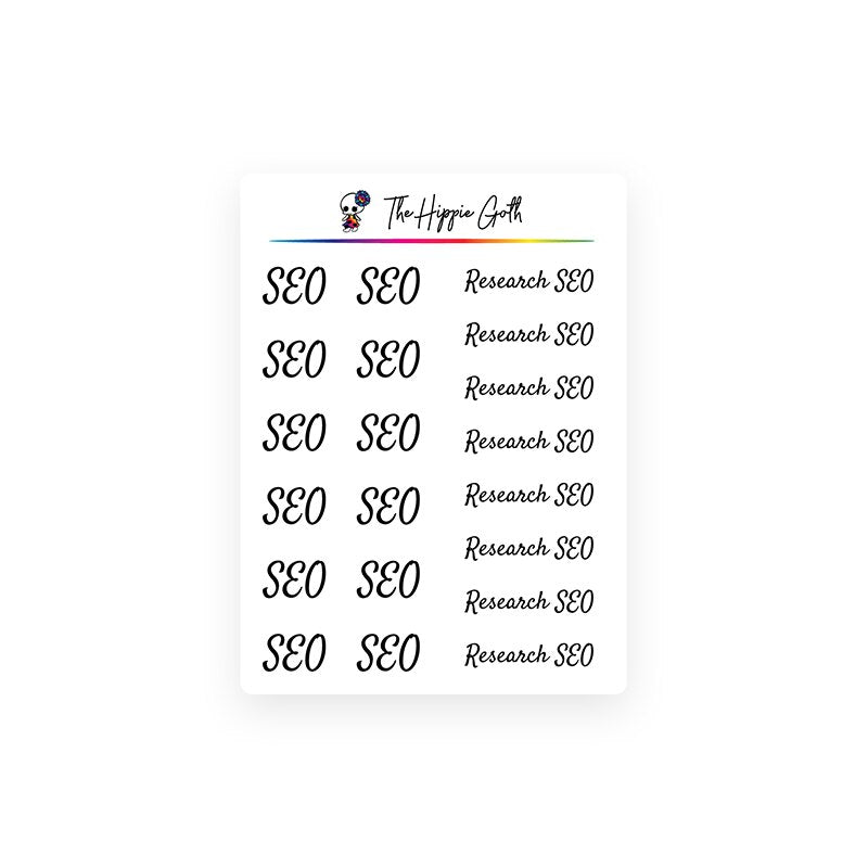 SEO Stickers
