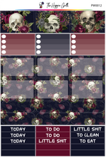 Load image into Gallery viewer, Floral Skulls PP Weeks/B6TN Mini Kit