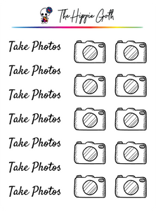 Take Photos Stickers