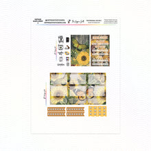 Load image into Gallery viewer, Vintage Sunflower LPA B6 Printable