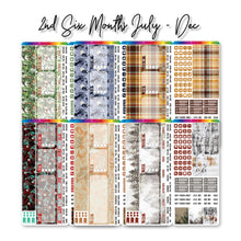 Load image into Gallery viewer, Second 6 Months 2021 Hobonichi Weeks Monthly Kits