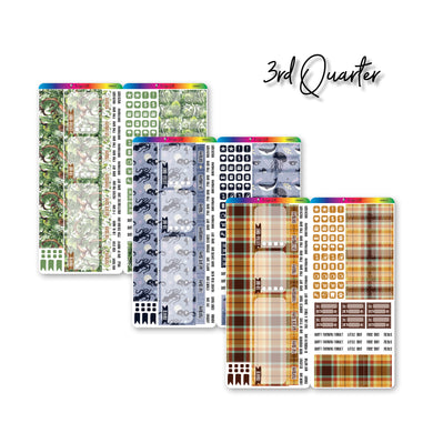 Third Quarter 2021 Hobonichi Weeks Monthly Kits