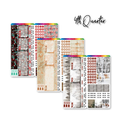 Fourth Quarter 2021 Hobonichi Weeks Monthly Kits