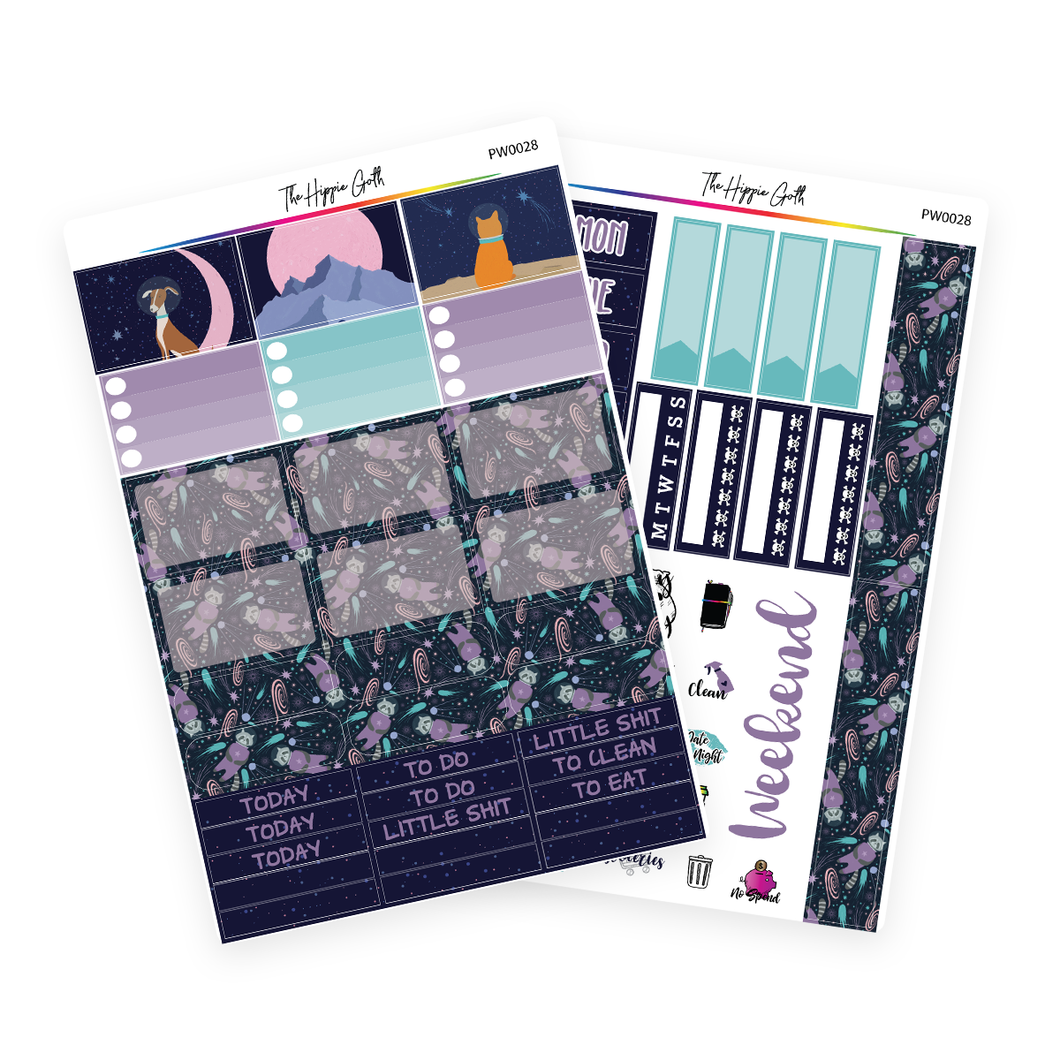 Lost in Space PP Weeks/B6TN Mini Kit