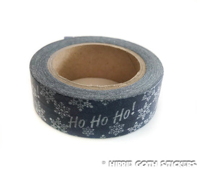 Navy Christmas Washi