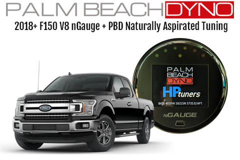 Palm Beach Dyno F150 18+ Flex Fuel 5.0L Tuning with nGauge
