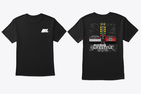 Mustang Lifestyle Drag Racing T-Shirt