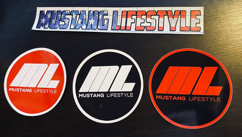 Mustang Lifestyle Sticker Bundle Pack