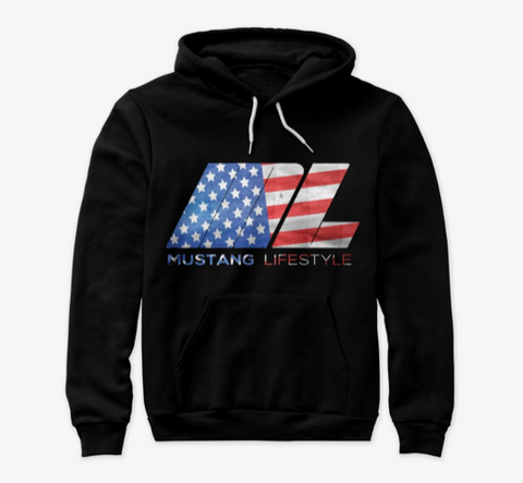ML American Flag Hoodies