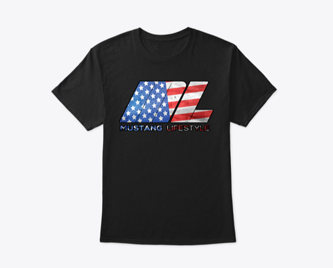 T-Shirt ML American Flag