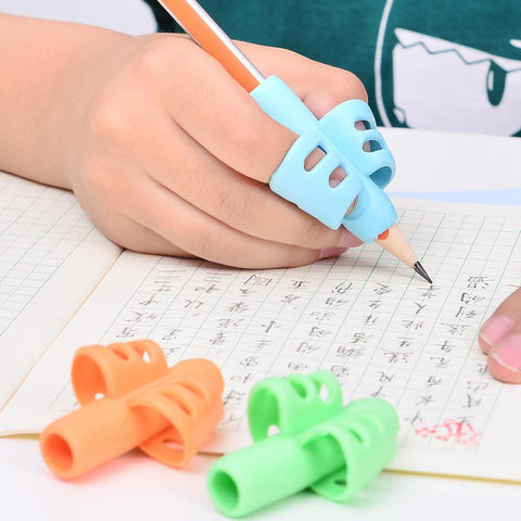 3PCS/Set Non Toxic Children Pencil Holder Pen For Brazil VIP