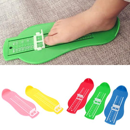 7 Colors Kid Infant Foot Measure Gauge Shoes Size Measuring Ruler Tool Available ABS Baby Car Adjustable Range 0-20cm size
