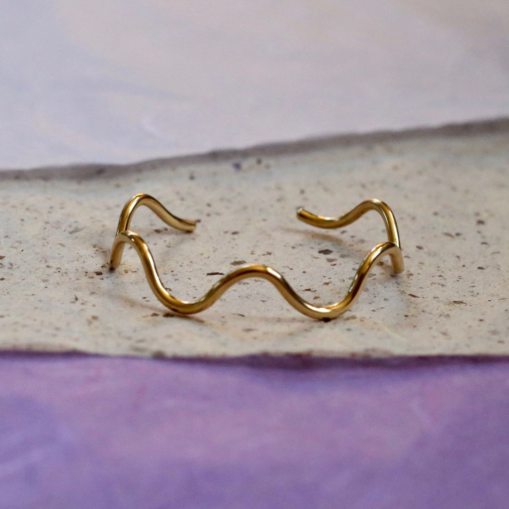 Squiggly Cuff - Take Shape Studio