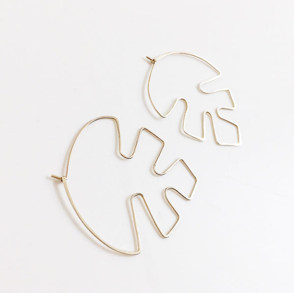 Philodendron Earrings - AOKO SU
