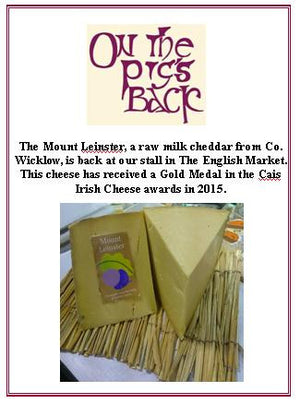 Mount Leinster Raw Cheddar Cheese