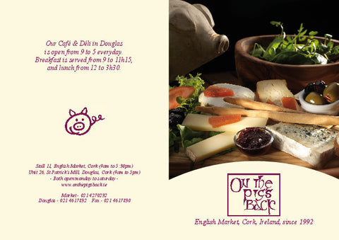 On The Pigs Back  Gift Voucher €50