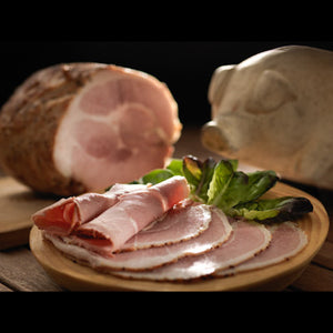 Jack McCarthy's home cooked free range ham. Cooked and glazed traditional way in our premises!!