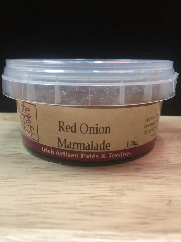irish homemade red onion marmalade