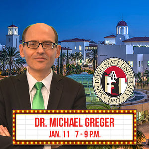 Dr. Michael Greger Speaking Tickets
