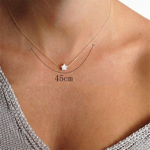 New Arrival Beach Style Shell Star Pendant Necklaces for Women Fashion Simple Charm Collar Jewlery 2019 Trendy Gifts
