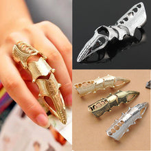 Load image into Gallery viewer, Unisex Cute but Stylish Gothic Punk Joint Knuckle Full Finger Claw Ring