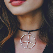 Load image into Gallery viewer, Peace Pendant