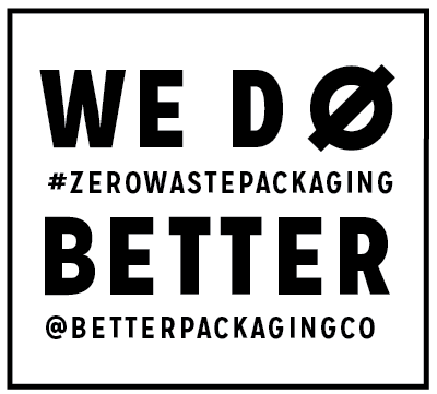 Zero waste, better packaging