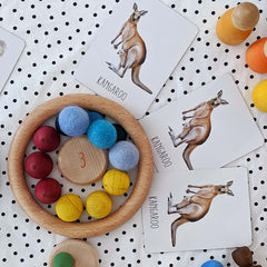 counting with loose parts
