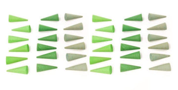 Grapat Mandala Little Green Cones (36 Pieces)_nesk-kids-store.