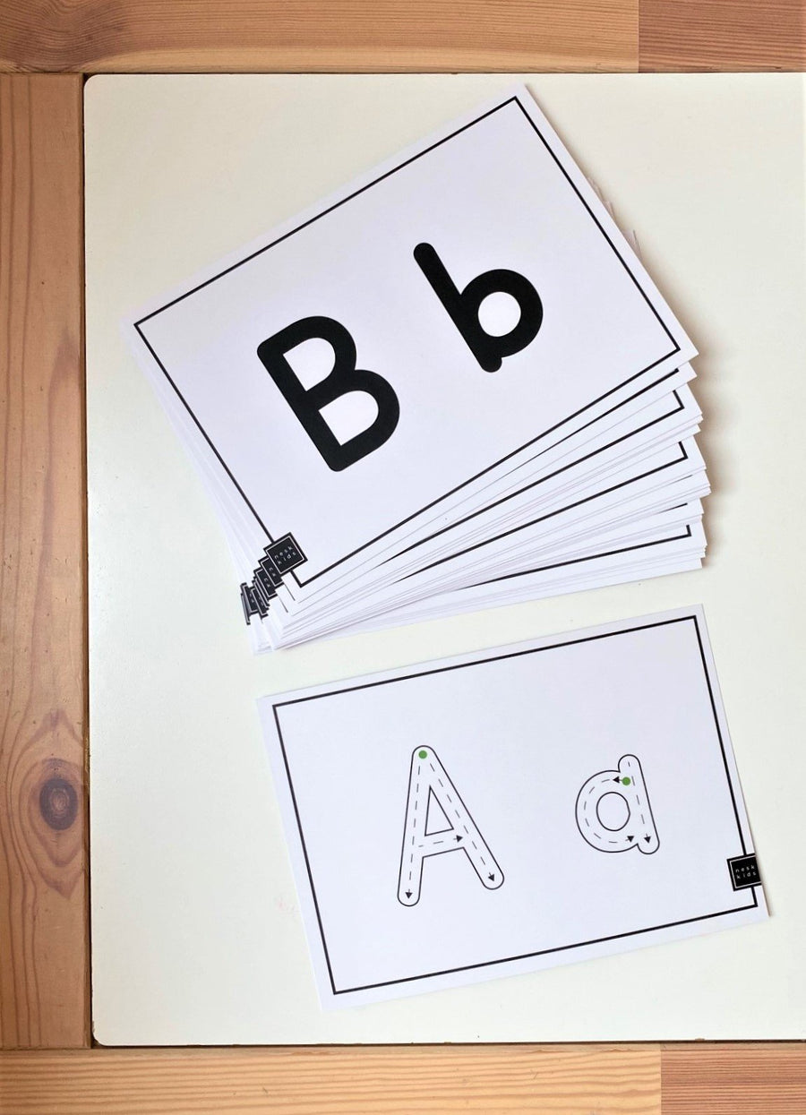 Nesk Kids Alphabet Cards - Primary Regular Nesk Kids