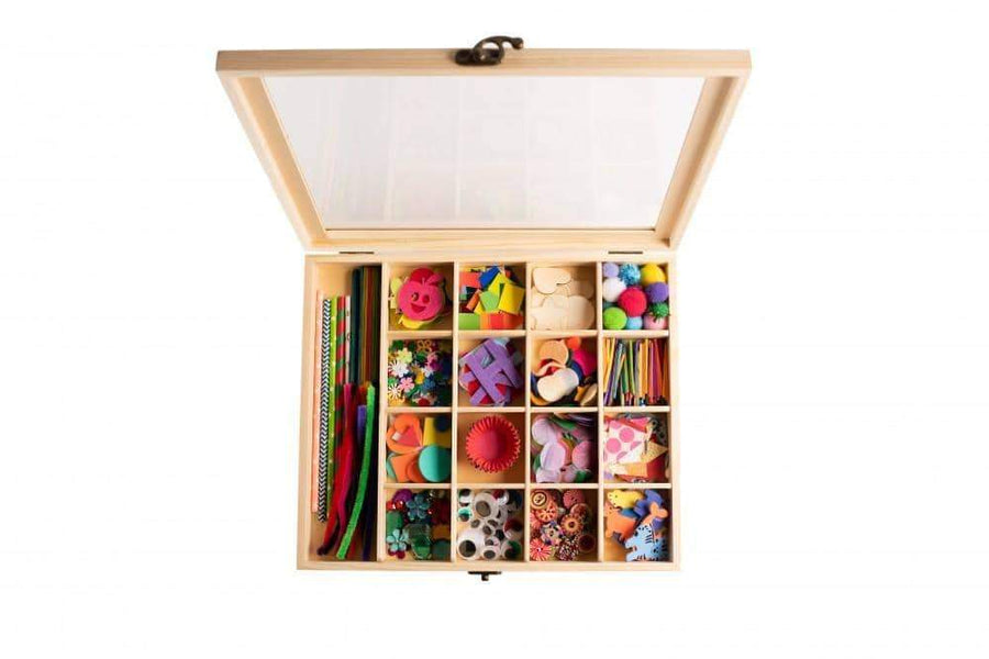 Nesk Kids Craft Play Box with Lock Lid Nesk Kids