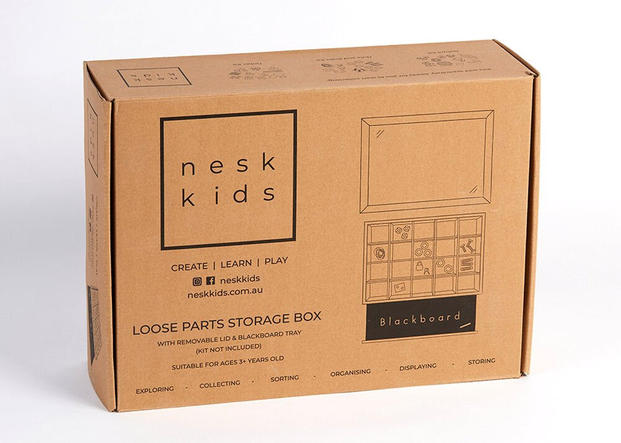 Nesk Kids Loose Parts Storage Box (no contents) *NEW LOOK* [PRE-ORDER] Nesk Kids