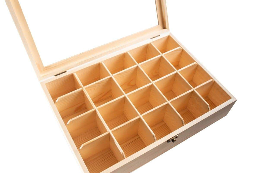 Nesk Kids Loose Parts Storage Box with Lock Lid (no contents) Nesk Kids