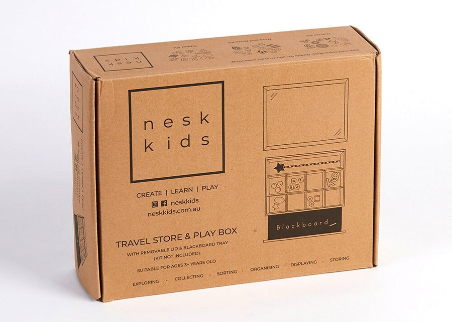 Travel Store and Play Box (no contents) *PREORDER* Nesk Kids