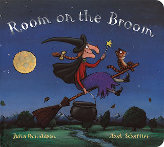 Big Price Drop - 98¢ Room on the Broom Board Book by Julia Donaldson (regularly $8) at Amazon