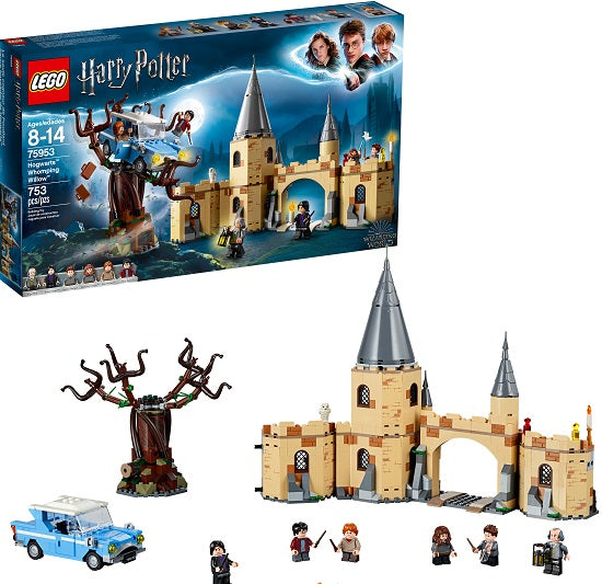 LEGO Harry Potter Hogwarts Whomping Willow Set (753 Pieces)