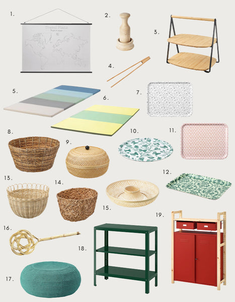 What's New At IKEA - for a Montessori Home (or School) March 2020