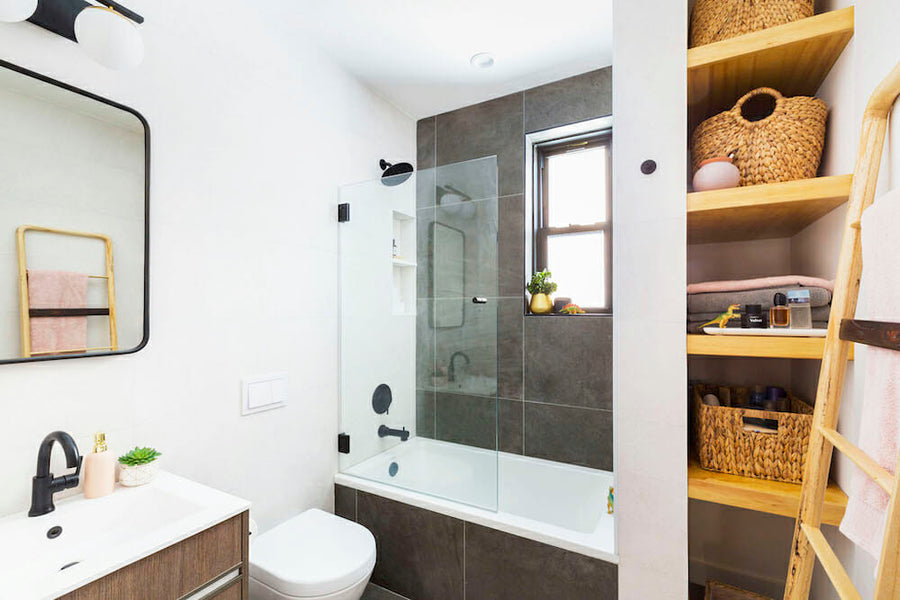 A step-by-step guide and timeline for a bathroom renovation