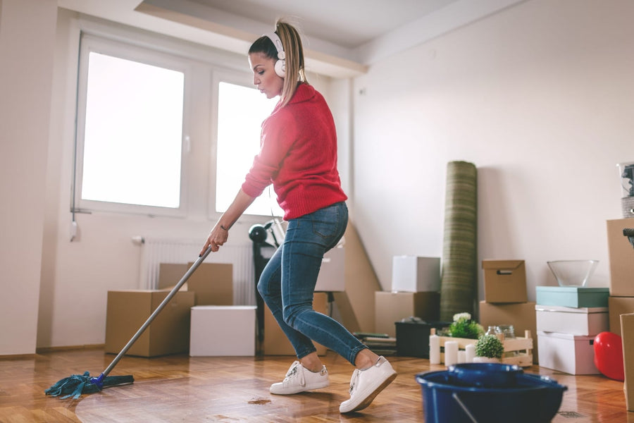 Moving out soon? Cleaning your old place may be the last thing on your mind, but it should be as much a priority as anything else on your apartment moving checklist, especially if you're expecting (or hoping) to get your deposit back.