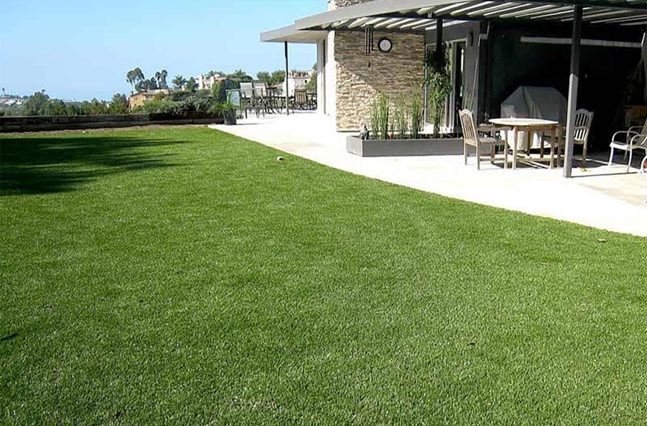 Artificial grass makes having a lawn so much easier