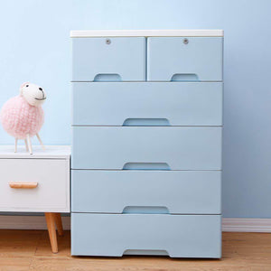 Discover the best nafenai 5 drawer kids storage cabinet home storage drawers with lock wheel plastic bedroom storage bin closet kids toy box clothes storage cabinet