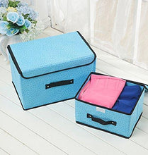 Load image into Gallery viewer, Online shopping hllmart 2 organizer shelves closet friendly closet breathable material for clothes storage and accessories handbag organizer shoe toys keep your wardrobe in order organizer boxes