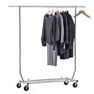 Get house day portable clothes rack portable closet rolling clothes rack foldable clothes stand commercial grade for professional use