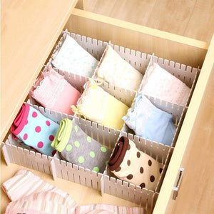 Online shopping shineme drawer organizer 24pcs diy plastic drawer dividers household storage shineme thickening housing spacer sub grid finishing shelves for home tidy closet stationary makeup socks organizer